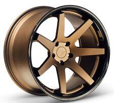 20x9/10.5 Ferrada FR1 5x115 +15/15 Matte Bronze Wheels Fits Dodge Charger Magnum