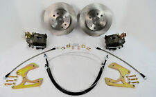 55 56 57 CHEVROLET BEL AIR REAR DISC BRAKE CONVERSION KIT E-BRAKE CALIPERS