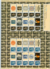 Great Britain , Penny Black / Blue 175th Anniversary 2015 Smiler Sheet