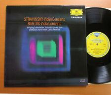 DG 135 155 Stravinsky Violin Concerto Bartok Viola Schneiderhan NM TULIP STEREO