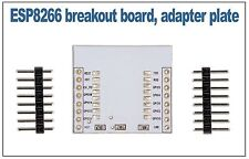 ESP8266 breakout board adapter plate for ESP-07, ESP-08 and ESP-12 modules