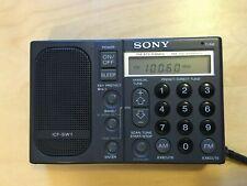 Sony ICF SW1 Weltempfänger in Top Zustand Kondensatoren + Goldcap & LED Neu