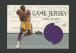 1999-00 Upper Deck Kobe Bryant Los Angeles Lakers HOF Game Jersey