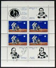 S430) spatiale Space Edgar Mitchell Apollo 14 ou Autograph Roumanie Bl 82