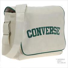 Converse Flap Messenger Heritage PU Bag (White)