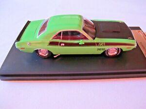 Premium X PRD 407J 1970 Dodge Challenger T/A 2-Door Hardtop Green 1:43 New