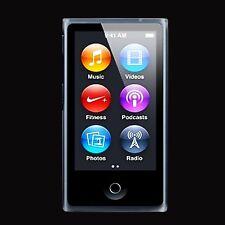 Soft Slim Silicon Glossy Case Clear Cover Skin Fits Apple iPod Nano 7th Gen