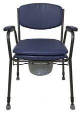 Toilettenstuhl Nachtstuhl WC - Stuhl Stahl feststehend RF-840 Reha Fund