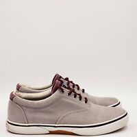 Sperry Men's top sider lace up Shoes 8.5 Medium Gray