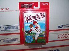 PLAYBALL  Baseball Card Game Plays Like a Real Baseball Game
