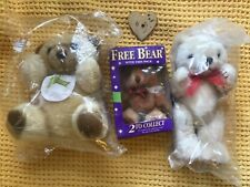 More details for job lot of vintage advertising teddy bears mills and boon, timotei and typhoo