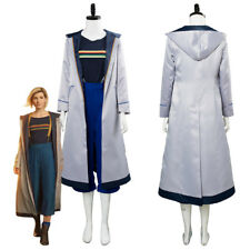 Dr.Who Season 11 the 13th Doctor Jodie Outfit Cosplay Costume Dress Coat Suit