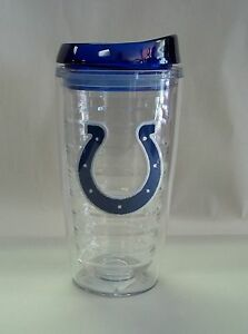 Indianapolis Colts Travel Mug Insulated Tumbler Patch