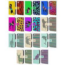 Gemusterte Handyhüllen & -taschen aus Leder für das iPhone 4s