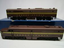 Balboa Brass HO PRR Pennsylvnia Pennsy Diesel Locomotive AB Set LN OB
