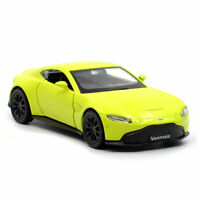 1:36 Aston Martin Vantage Model Car Diecast Toy Vehicle Collection Gift Yellow