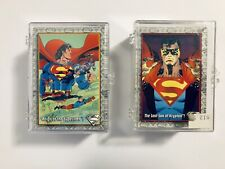 1993 DC Comics Skybox The Return of Superman Complete Base Set with Duplicates