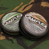 New Gardner Camflex continental lead free leader 60LB All Colours - Carp Fishing