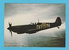 AEROPLANES -  AFTER THE BATTLE POSTCARD  -  SPITFIRE  AEROPLANE  -  CARD  P 112