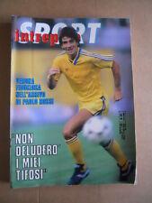 INTREPIDO n°35 1986 Paolo Rossi Beniamino Vignola Sting  [G491]