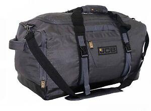JCB Mens Sports Holdall Gym Bag Overnight Travel Bags Hand Luggage Duffle