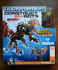 "Brand New TRANSFORMERS Construct-Bots Beast Hunters Predacons Rising ""PREDAKING"""