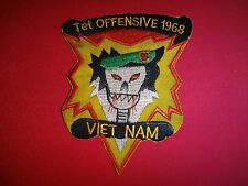 Vietnam War Patch MACV-SOG TET OFFENSIVE 1968 Lunar New Year Of The Monkey