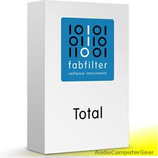 FabFilter TOTAL BUNDLE w/Pro-Q 3, Pro-R, Pro-L, Pro-C Plug-in Audio Software NEW