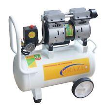 ORAZIO 241174 Low Noise Silent Air Compressor 65DB 220V 750W 24L Garage Clinic