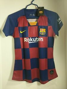 New Women's Nike Lionel Messi Barcelona F.C. Medium Jersey