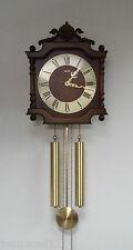 Reloj de pared FRANZ HERMLE 82 261-030A 55cm/88.200 campanada a la hora Vintage