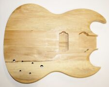 Body Körper Korpus für E Gitarre Massivholz unbehandelt neu