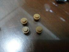Non-Lego LOT of Bricks - Mustard Brown Color 4 pieces - Check Below
