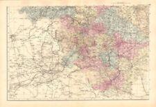 Yorkshire 1800-1899 Date Range Antique Europe Atlas Maps
