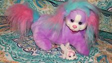 PUPPY SURPRISE Mom Dog Plush Stuffed Animal Just Play Purple Pink Teal Mommy +
