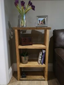 Reclaimed Rustic Scaffold Board Bookcase / Shelves