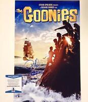 RICHARD DONNER Auto GOONIES Signed 11x17 Movie Poster Photo BAS Beckett COA (c)