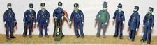 Victorian Edwardian Railway F7p PAINTED OO Scale Langley Models People Figures