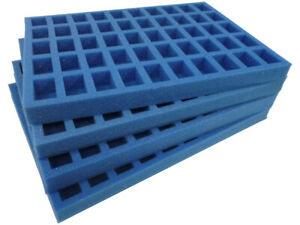 Clearance KR Cases Foam Set For Games Workshop Classic Case 25/28mm Scale GWM4S