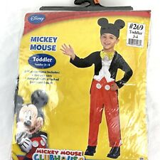 Disney Mickey Mouse Clubhouse Halloween Costume Dress Up Size 3 4 Toddler Nip