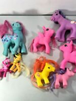 Lot of 8 My Little Pony with Fakies and Damage Lot