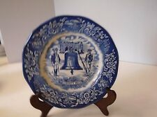 Avon Liberty Bell Bicentennial Plate symbol of Liberty and Freedom for Americans