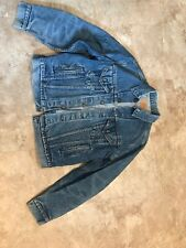 Levis Mens  Classic Med Dark Wash Trucker Denim Jean Jacket  Size 44