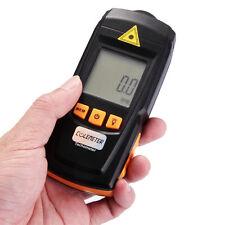 Digitale Contagiri Tachimetro Portatile Misura Velocità 2,5-99999rpm Dispaly LCD