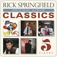 Rick Springfield - Original Album Classics [New CD] Boxed Set