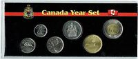 2016 Canadian Brilliant Uncirculated Six Coin Year Set in Nice Display!