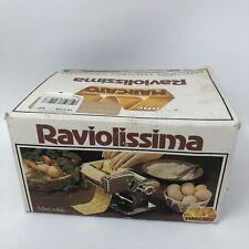 Raviolissima Ravioli Maker Machine Attachment  Italy Made by Mercato