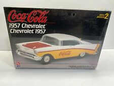 AMT 1:25 Scale Coca-Cola 1957 Chevrolet Sealed Boxed Model Kit No Reserve
