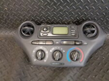 2002 TOYOTA YARIS 1.0 ventricolare R SINCRONIZZATO-I 5DR A/C Controllo Riscaldatore & Display Orologio Gruppo Unità