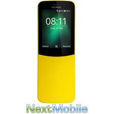 Nokia 8110 4G 512MB RAM 2MP MicroSD Upto 32GB Phone - Yellow